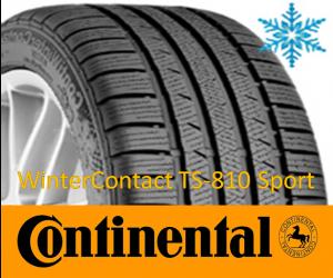 Continental WinterContact TS-810 Sport  GumeDedra
