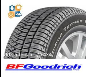 BFGoodrich Urban Terrain TA 4X4 SUV sl.lo.