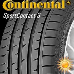 Continental SportContact 3 sl-lo Dedra