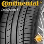Continental SportContact 5 sl-lo Dedra