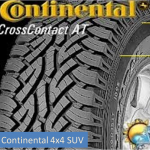 Continental CrossContact AT 4x4 SUV sl.lo. GumeDedra