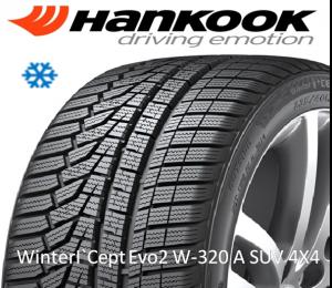 Hankook Winter I`Cept Evo 2 W-320A SUV 4X4 sl.lo.GumeDedra
