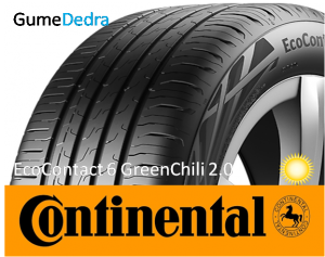 Continental EcoContact 6 GreenChili 2.0 sl.lo.GumeDedra