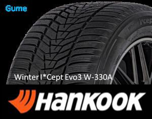 Hankook Winter I`Cept Evo 3 W-330A SUV 4X4 sl.lo.GumeDedra